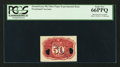 Fractional Currency:Second Issue, 50¢ Second Issue Fiber Paper Experimental PCGS Gem New 66PPQ.. ...