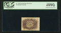 Fractional Currency:Second Issue, Fr. 1284 25¢ Second Issue Bronzing Error PCGS Extremely Fine 45PPQ.. ...