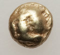 Ancients:Greek, Ancients: IONIA. Miletus. Ca. 600-550 BC. EL 1/24th stater (0.56gm). ...