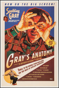 """Gray's Anatomy (Northern Arts Entertainment, 1996). One Sheet (27"""" X 40""""). Comedy"""