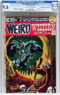 Bronze Age (1970-1979):Horror, Weird Western Tales #12 Don/Maggie Thompson Collection pedigree(DC, 1972) CGC NM+ 9.6 Off-white to white pages....