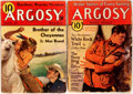 Books:Periodicals, [Erle Stanley Gardner]. Two Issues of Argosy Weekly, Featuring Two First Appearances by Erle Stanley Gardner. Th... (Total: 2 Items)