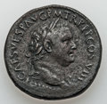 Ancients:Roman Imperial, Ancients: Titus (AD 79-81). Orichalcum sestertius (27.23 gm)....