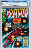 Bronze Age (1970-1979):Superhero, Iron Man #23 Don/Maggie Thompson Collection pedigree (Marvel, 1970) CGC NM+ 9.6 White pages....