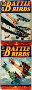 Books:Periodicals, Pair of Battle Birds Issues. Chicago: American FictionMagazines, 1933. Volume one, issue three [and:] volume th...(Total: 2 Items)