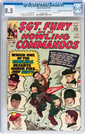 Silver Age (1956-1969):War, Sgt. Fury and His Howling Commandos #12 Don/Maggie Thompson Collection pedigree (Marvel, 1964) CGC VF+ 8.5 Off-white to white ...