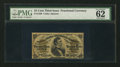 Fractional Currency:Third Issue, Fr. 1299 25¢ Third Issue PMG Uncirculated 62.. ...