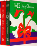 Books:Children's Books, [Clement Clark Moore]. Robert Sabuda. The Twelve Days ofChristmas and The Night Before Christmas Pop-... (Total:2 Items)