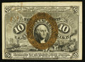 Fractional Currency:Second Issue, Fr. 1246 10¢ Second Issue Extremely Fine.. ...