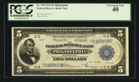 Fr. 784 $5 1918 Federal Reserve Bank Note PCGS Extremely Fine 40