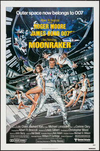 "Moonraker (United Artists, 1979). One Sheet (27"" X 41""). James Bond"