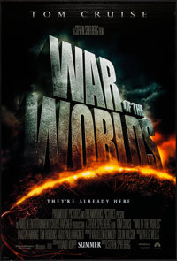 """War of the Worlds & Other Lot (Paramount, 2005). One Sheets (2) (27"""" X 40"""") DS Advance & Regul..."""