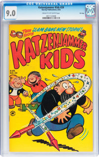 Katzenjammer Kids #24 File Copy (Harvey, 1953) CGC VF/NM 9.0 Cream to off-white pages