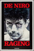 "Movie Posters:Drama, Raging Bull (United Artists, 1980). One Sheet (27"" X 41"") Advance.Drama.. ..."
