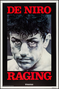 "Raging Bull (United Artists, 1980). One Sheet (27"" X 41"") Advance. Drama"