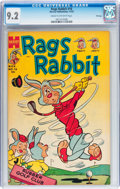Golden Age (1938-1955):Funny Animal, Rags Rabbit Comics #16 File Copy (Harvey, 1953) CGC NM- 9.2 Creamto off-white pages....