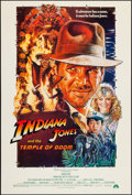"""Movie Posters:Adventure, Indiana Jones and the Temple of Doom (Paramount, 1984). One Sheet(27"""" X 41"""") Style B. Adventure.. ..."""