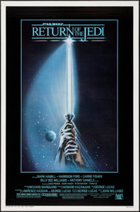 """Return of the Jedi (20th Century Fox, 1983). One Sheet (27"""" X 41"""") Style A. Science Fiction"""
