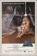 "Movie Posters:Science Fiction, Star Wars (20th Century Fox, R-1982). Video One Sheet (27"" X 41"")Heavy Stock Style A. Science Fiction.. ..."