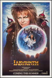 "Labyrinth (Tri-Star, 1986). One Sheet (27"" X 41""). Fantasy"
