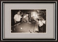 """Movie Posters:Comedy, Three Stooges Billiards Photo (Late 1950s). Photo (4"""" X 5"""") inFrame (5"""" X 7""""). Comedy.. ..."""