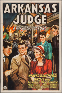 "Arkansas Judge (Republic, 1941). One Sheet (27"" X 41""). Drama"