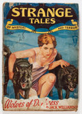 Pulps:Horror, Strange Tales V1#3 (Clayton, 1932) Condition: GD-....