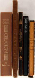 Books:Literature 1900-up, Group of Five Random House SIGNED/Limited Editions. Primarily midtwentieth century. Octavos. Publisher's bindings in slipca...(Total: 5 Items)