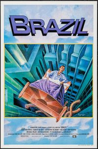 "Brazil (20th Century Fox, 1985). International One Sheet (27"" X 41""). Fantasy"