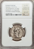 Ancients:Roman Imperial, Ancients: Domitian (AD 81-96). AR cistophorus (10.36 gm)....
