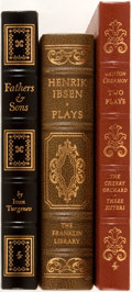 Books:Fine Bindings & Library Sets, [Russian and Norwegian Literature]. Group of Three Books Publishedby Franklin Library and Easton Press. Includes selections...(Total: 3 Items)