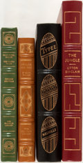 Books:Fine Bindings & Library Sets, [Sinclair, Melville, at al]. Group of Four Books Published by Franklin Library and Easton Press. Includes selections by ... (Total: 4 Items)