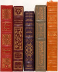 Books:Fine Bindings & Library Sets, [18th-20th Century Female Literature]. Group of Five Books Published by Franklin Library and Easton Press. Includes sele... (Total: 5 Items)