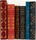 Books:Fine Bindings & Library Sets, [French Literature]. Group of Six Books Published by Franklin Library and Easton Press. Includes selections by Stendhal,... (Total: 6 )