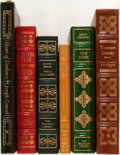 Books:Fine Bindings & Library Sets, [European Literature]. Group of Six Books Published by FranklinLibrary and Easton Press. Includes selections by Joseph ... (Total:6 Items)