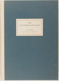 Books:Books about Books, [Bookseller Catalog]. H.P. Kraus, The Ninetieth Catalog. N.d. Folio. Quarter cloth over blue boards. Fine. . ...