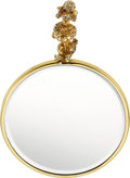 Estate Jewelry:Other , Sapphire, Gold Hand Mirror, Ruser. ...