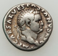 Ancients:Roman Imperial, Ancients: Vespasian, with Titus and Domitian as Caesares (AD69-79). AR denarius (2.96 gm)....