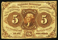 Fractional Currency:First Issue, Fr. 1231 5¢ First Issue Very Fine-Extremely Fine.. ...