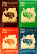 Books:Natural History Books & Prints, T. Campbell, Drawings. R.J. Labuschagne, Text. Birds of the Kruger and other National Parks, Volumes One Through Four. ... (Total: 4 Items)