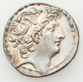 Ancients:Greek, Ancients: SELEUCID KINGDOM. Antiochus VIII Epiphanes-Grypus(121/0-97/6 BC). AR tetradrachm (16.30 gm)....