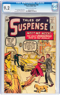 Silver Age (1956-1969):Science Fiction, Tales of Suspense #36 (Marvel, 1962) CGC NM- 9.2 Cream to off-whitepages....