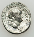 Ancients:Roman Imperial, Ancients: Vespasian (AD 69-71). Lot of two (2) AR denarii....(Total: 2 items)