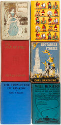 Books:Children's Books, Group of Six Early Twentieth Century Illustrated Children's Books.Various publishers and editions. Publisher's bindings, on...(Total: 6 Items)