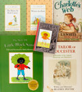 Books:Children's Books, Group of Six Children's Books. Includes: Beatrix Potter. TheTailor of Gloucester. New York: Warne, [1968]. Limited to 1...(Total: 6 Items)