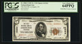National Bank Notes:Tennessee, Lexington, TN - $5 1929 Ty. 2 The First NB Ch. # 12324. ...