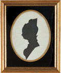 Political:Presidential Relics, [Thomas Jefferson]: Personally-Owned Silhouette of Daughter Martha....
