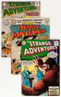 Silver Age (1956-1969):Science Fiction, Strange Adventures Group (DC, 1956-64) Condition: Average VG....(Total: 9 Comic Books)