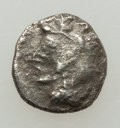 Ancients:Judaea, Ancients: Philistia. Ca. 5th-4th centuries BC. AR ma'ah-obol (8mm,0.66 gm, 2h). ...