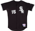 Baseball Collectibles:Uniforms, 2007 Tadahito Iguchi Game Worn Chicago White Sox Jersey....